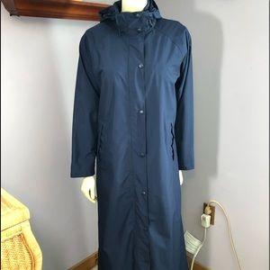 LL Bean Mid-Length Raincoat